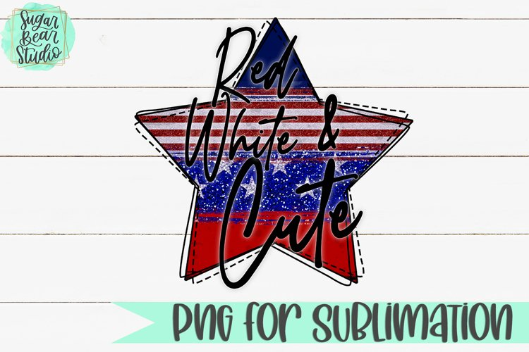 Red White & Cute - A PNG For Sublimation