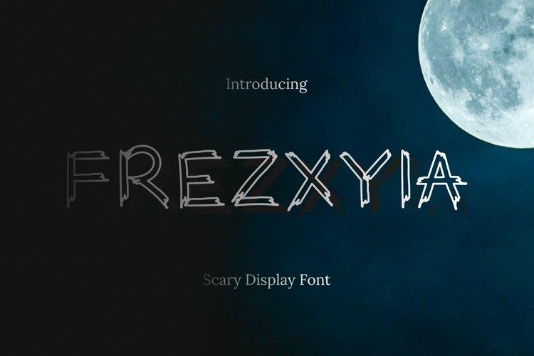 Web Font Frezxyia Font example image 1