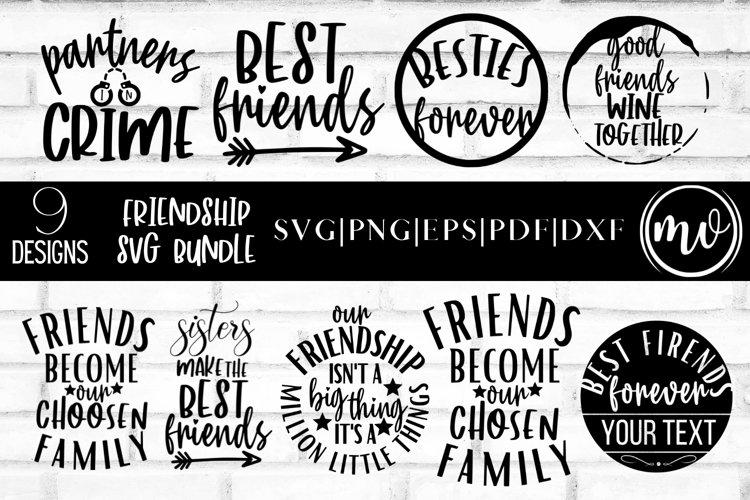 Friendship SVG Bundle | Best Friends SVG files for Cricut