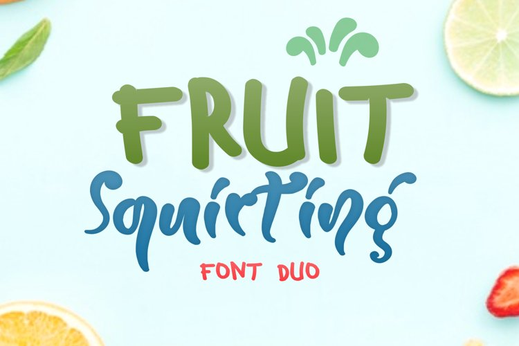 Fruit Squirting example image 1