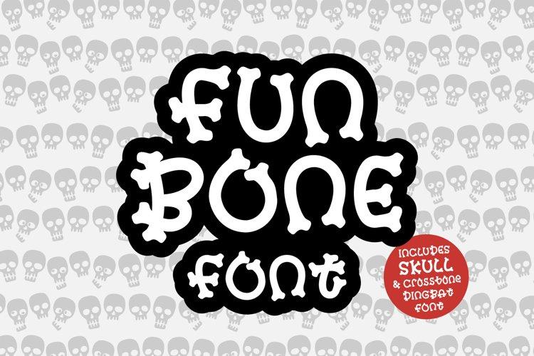 A fun bone font for Halloween Fonts