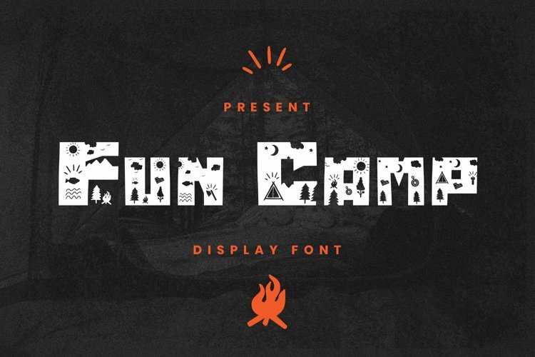 Web Font Fun Camp Font example image 1