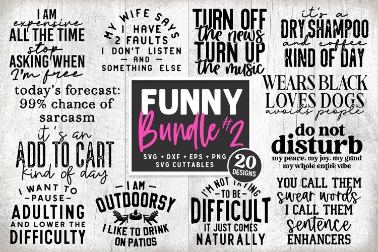 Funny Bundle 2   Funny SVG Cut Files   Shirt Bundle