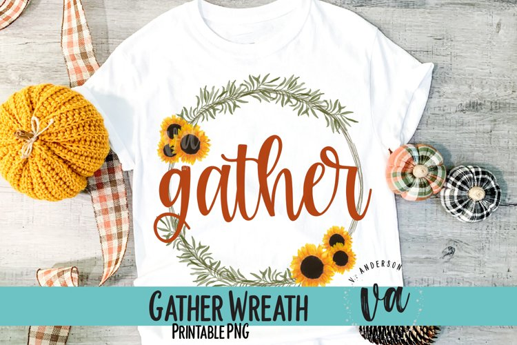 Gather Fall Sublimation PNG