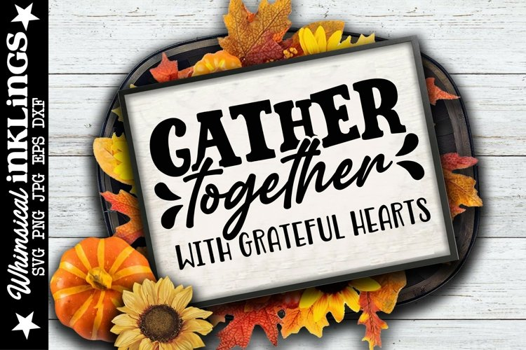 Gather Together SVG example image 1