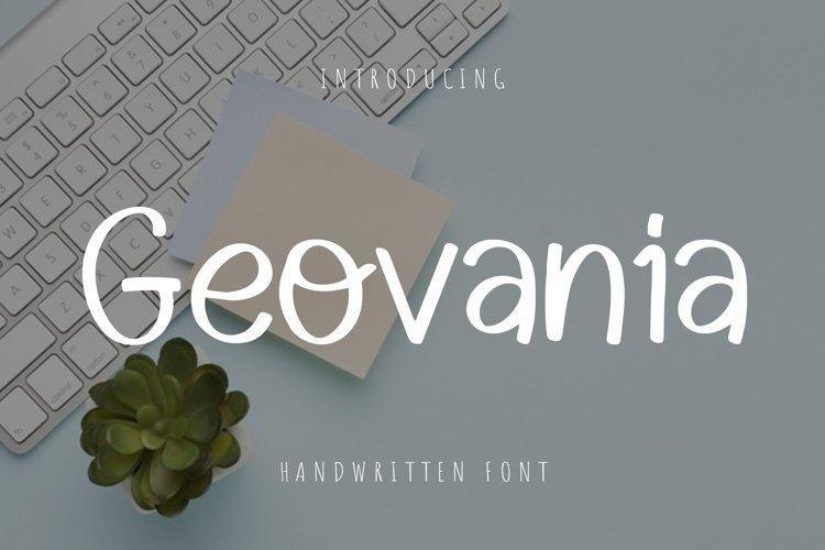 Geovania example image 1