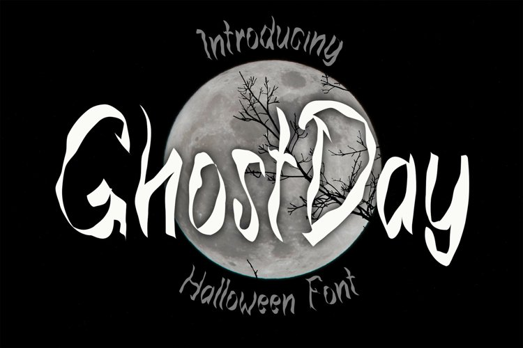 Ghost Day - Halloween Horror Font example image 1