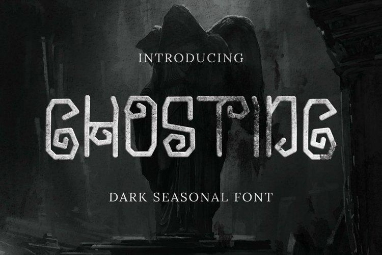 Web Font Ghosting