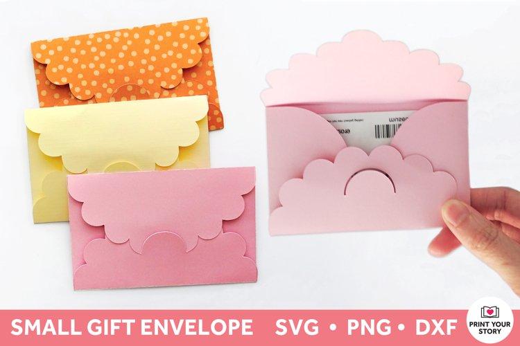 Gift Card Holder SVG Template, Gift Envelope SVG file