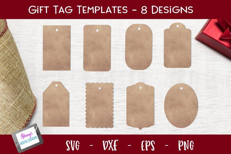 Gift Tag Bundle - 8 Gift tag templates