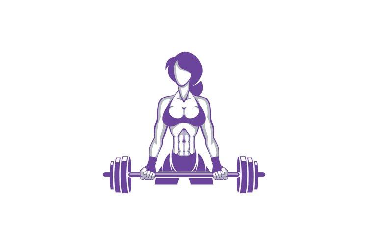 Gym Girl Logo example image 1