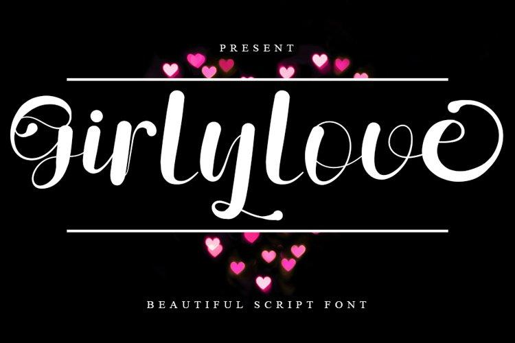 Girlylove - Beautiful Script Font example image 1