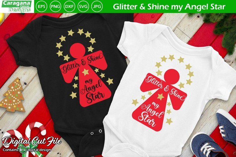 Glitter & Shine my Angel Star example image 1