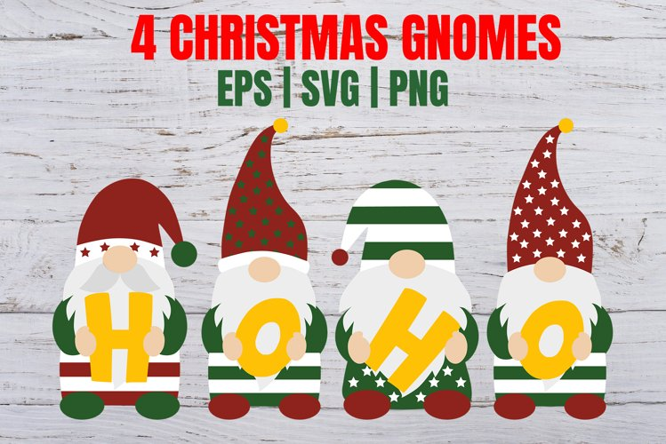 Gnomes Christmas gnome svg Ho ho ho svg Christmas svg