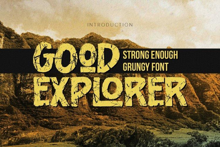 Good Explorer example image 1