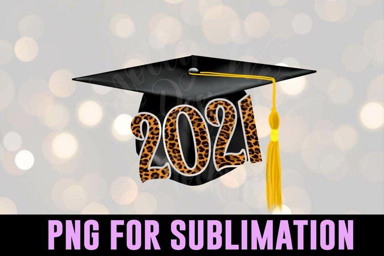 Grad Leopard sublimation - Graduation PNG - Downloadable