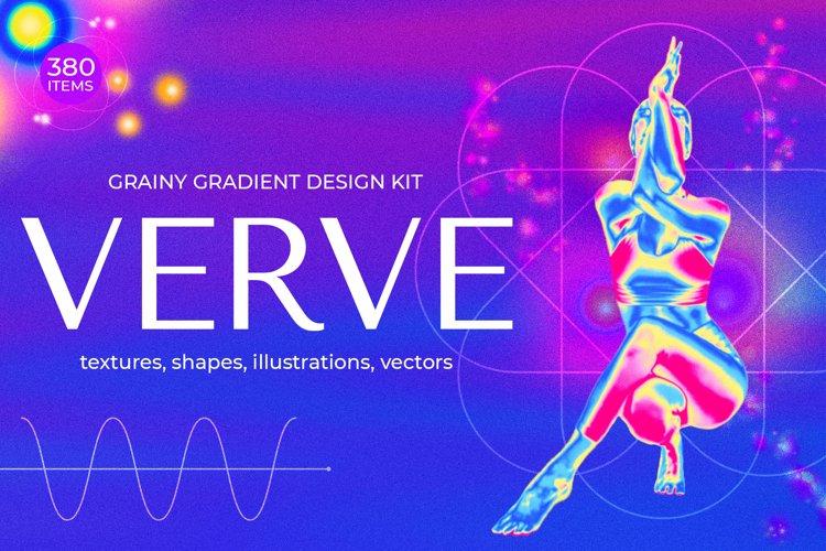 Grainy Gradient Textures & Shapes