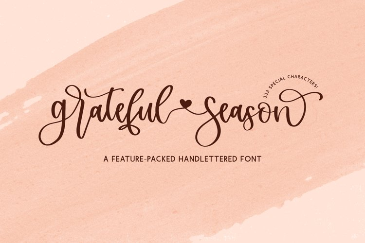 Grateful Season Script example image 1