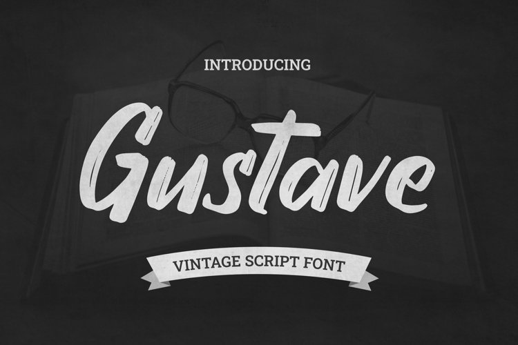 Web Font Gustave Font example image 1