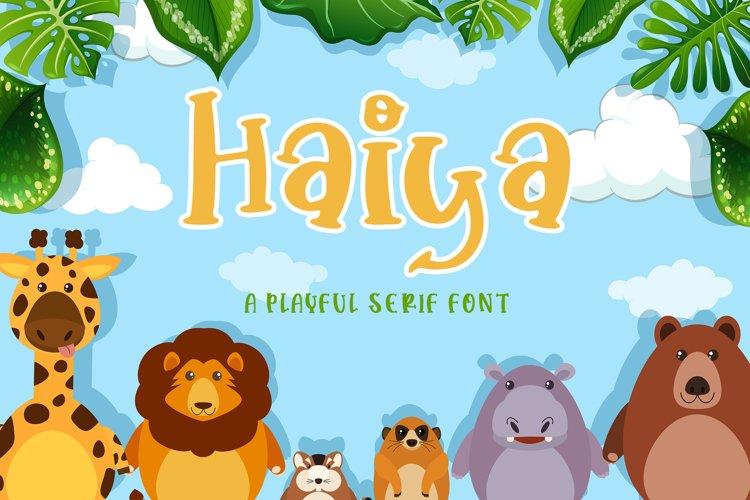 Haiya example image 1