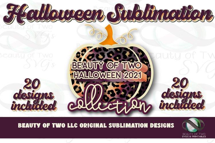 Sublimation Halloween 2021 Collection Bundle 20 Retro pngs