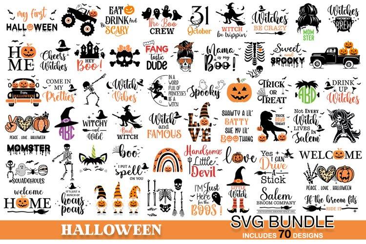 Halloween SVG bundle 70 designs