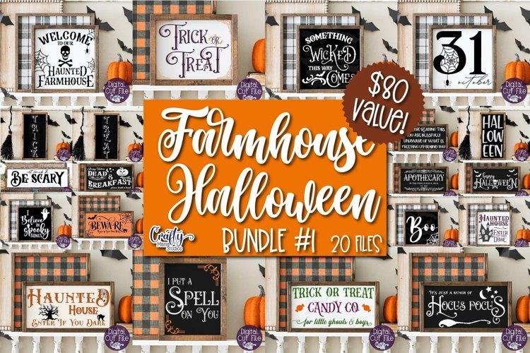 Halloween Svg, Farmhouse Sign, Farmhouse Halloween Bundle