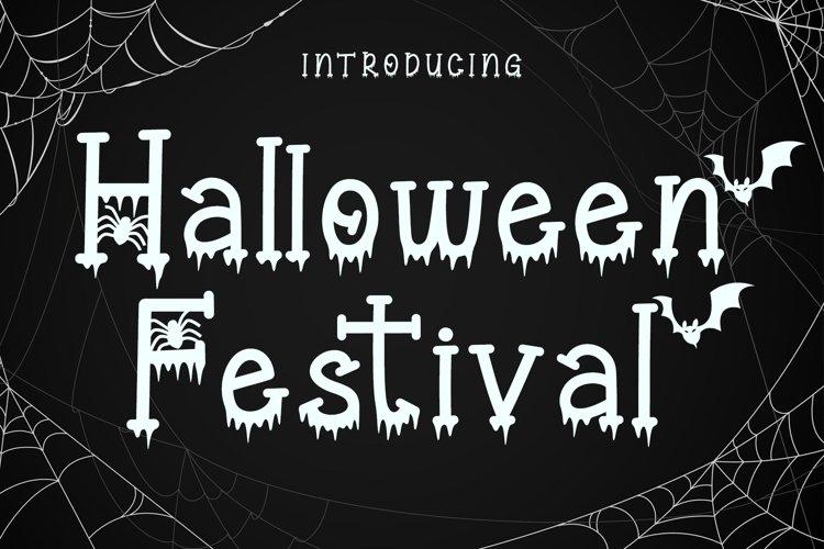 Halloween Festival - A Halloween Display Font example image 1