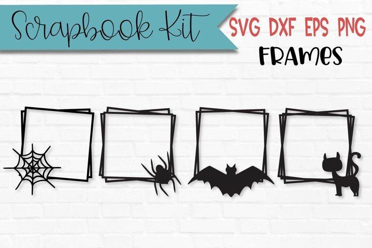 Halloween Scrapbook Frames Scrapbooking Kit