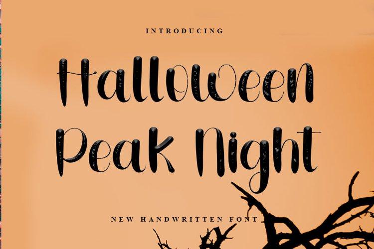 Halloween Peak Night example image 1