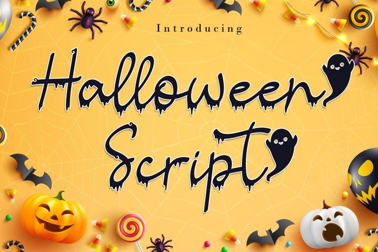 Halloween Script example image 1