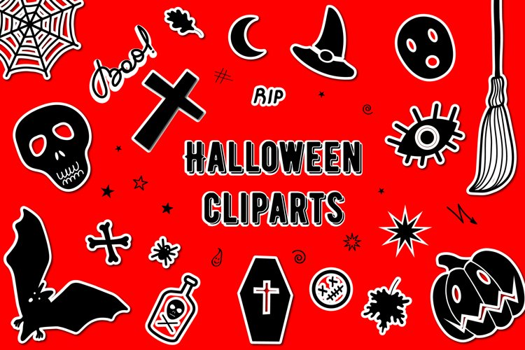 Halloween SVG Bundle | Day of the Dead bundle example image 1