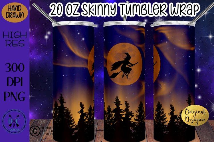 Halloween Sublimation 20 oz Skinny Tumbler Wrap