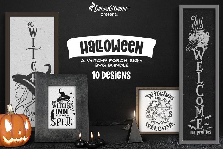 Halloween Welcome Signs SVG Bundle   Witch SVG Bundle
