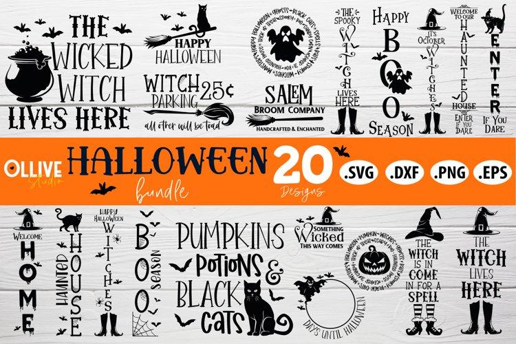 Halloween SVG   Halloween Bundle SVG PNG DXF EPS example image 1