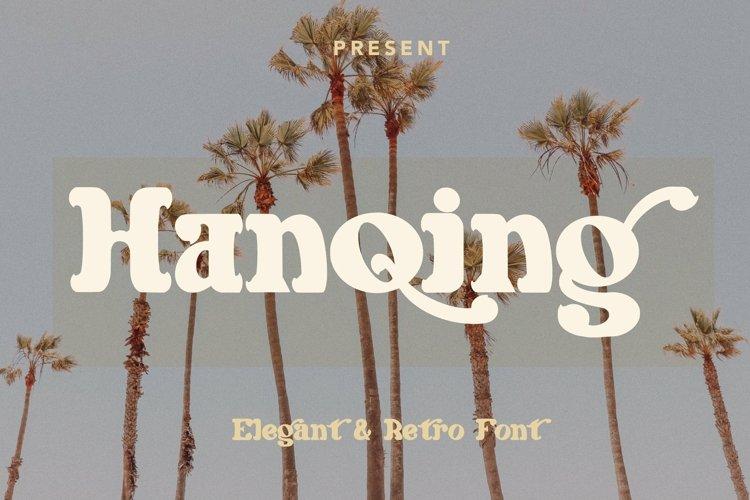 Web Font Hanqing - Elegant & Retro Font example image 1