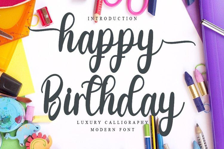 Happy Birthday example image 1