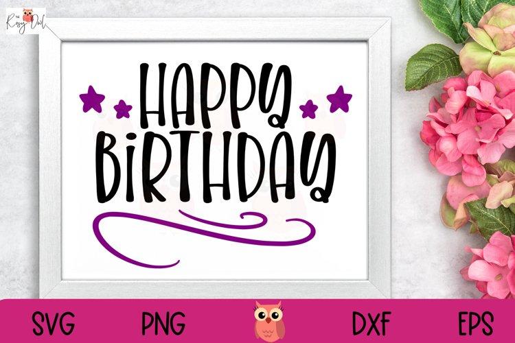 Happy Birthday SVG   Celebration SVG   Birthday SVG