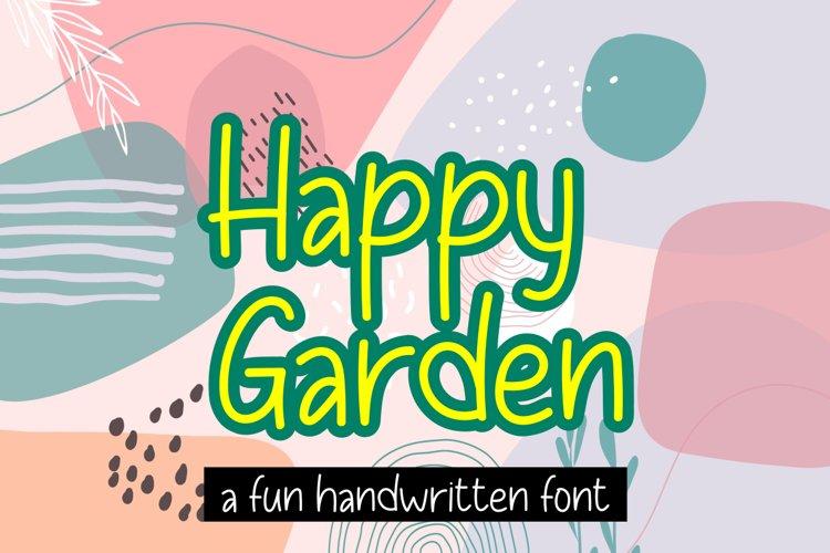 Happy Garden example image 1