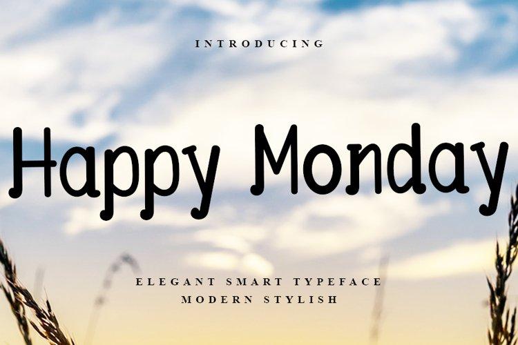 Happy Monday example image 1