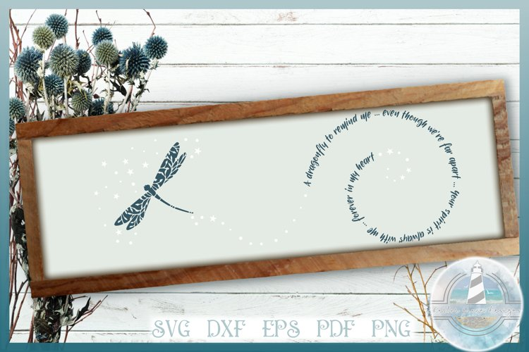 harbor grace designs dragonfly to remind me quote svg for cricut and silhouette machines also includes dxf eps pdf and png