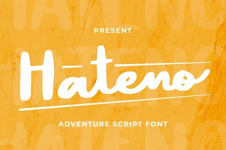 Web Font Hateno Font