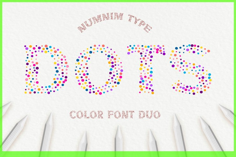 Dots - Classic Display color and normal font