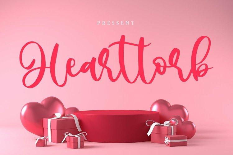 Web Font Hearttorb - Love Font