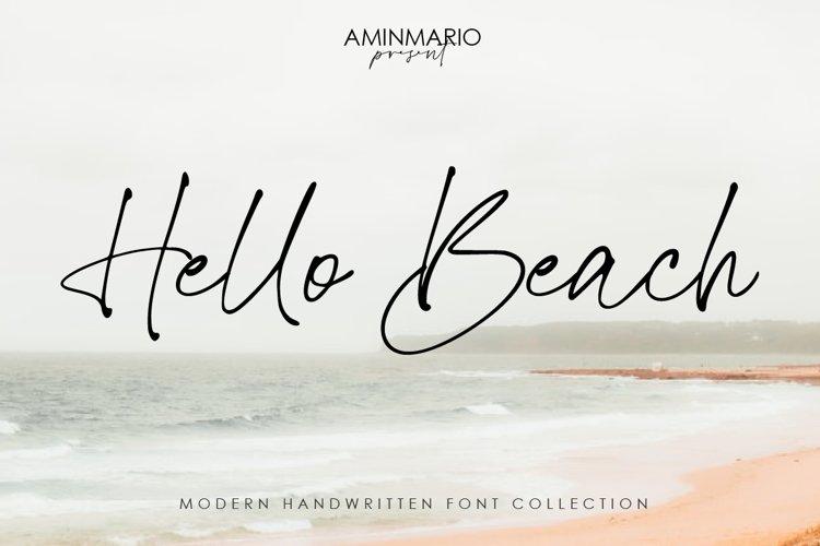Hello Beach example image 1