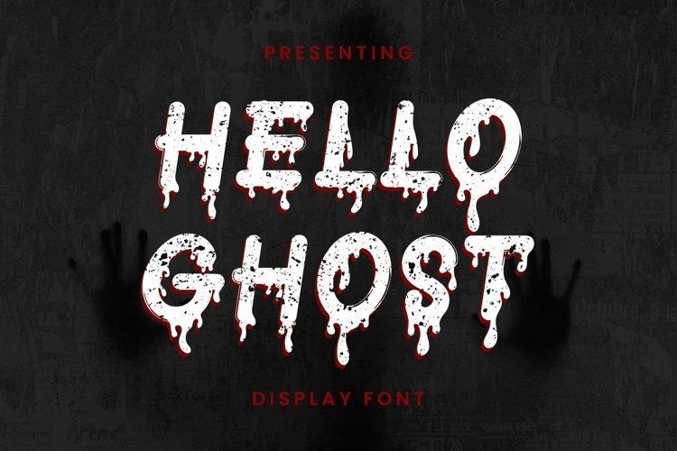 Web Font Helloghost - Halloween Font example image 1