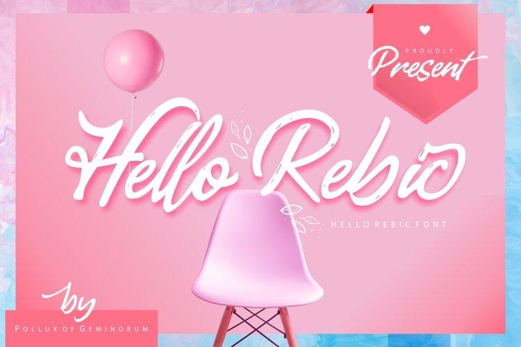 Hello Rebic example image 1