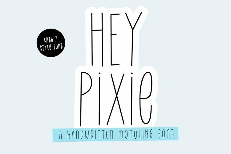 Hey Pixie | 7 Variations example image 1