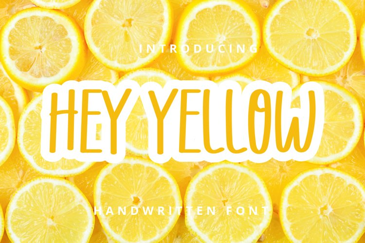Hey Yellow example image 1