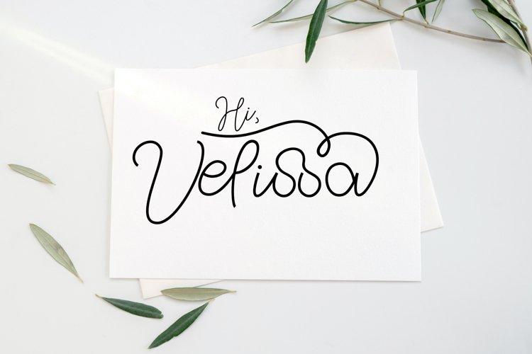 Hi Velissa example image 1